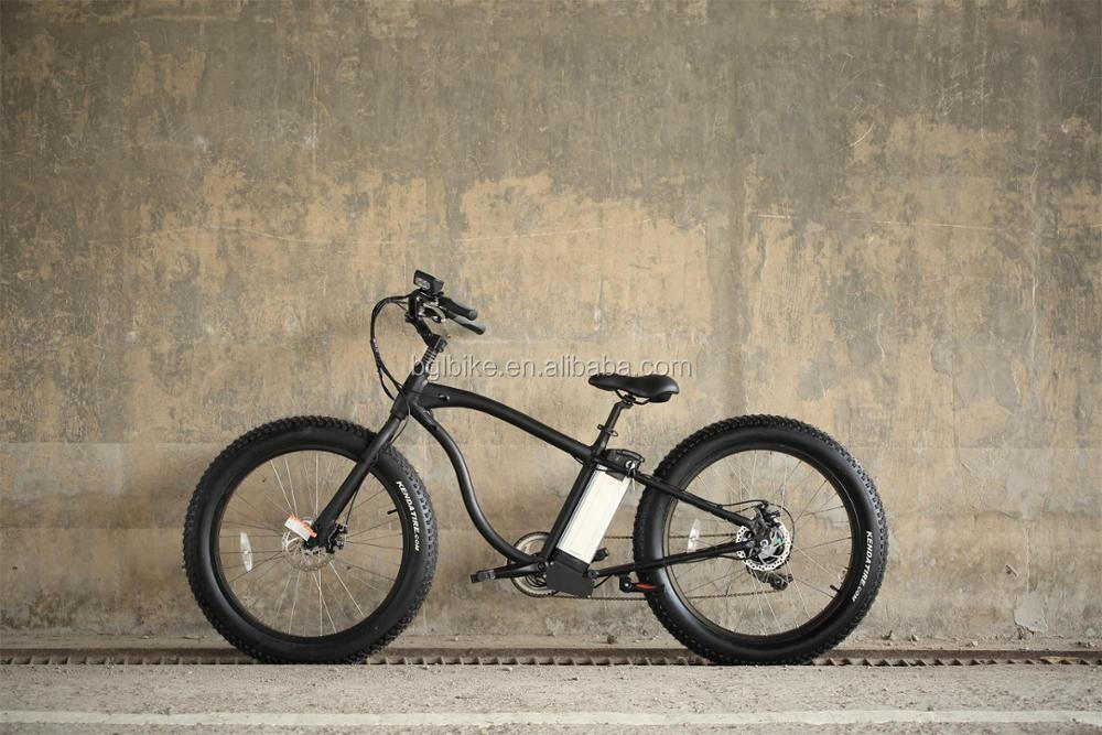 2018 Cheap Price High Power Electric Chopper Motorcycle/High Quality E bike fat With Hidden Battery