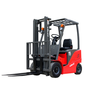 Four wheels Balance Electric forklift Truck