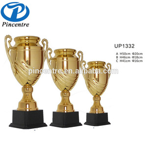 Wholesale Gold Award Sports Champion Metal Trophy Cups