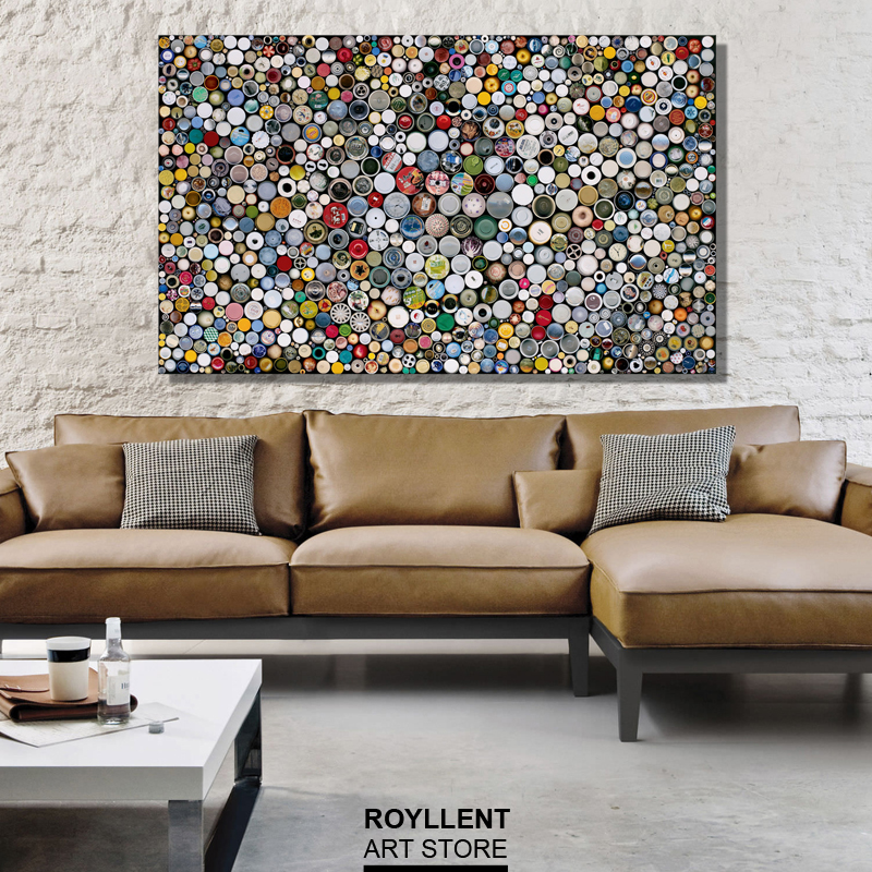 Morden canvas print painting unframed for livingroom art wall decoration HD large colorful picture for bedroom abstract photo