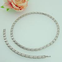 Long Chain Health Tiitanium Germanium Jewellery Box Necklace