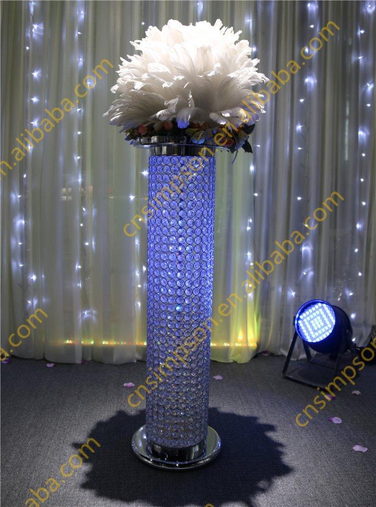 Wedding Column Wedding Walkway Stand Decoration Buy Crystal
