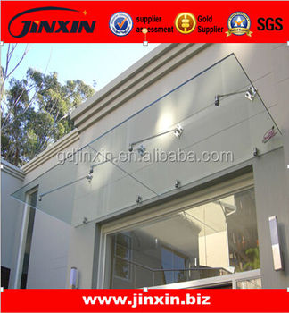 Stainless Steel glass canopy awning manufacturer & Stainless Steel Glass Canopy Awning Manufacturer - Buy Canopy ...