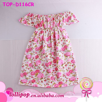 4c47b54e29f Flower Little Girl Dress Kids Summer Wear Sweet Love Baby Children Boutique  Clothing Casual Spring Summer