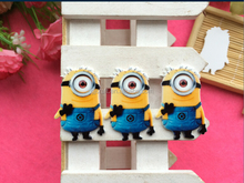 High Quality Lovely Minions Kids Bang Hair Girl's Claw BB Clip
