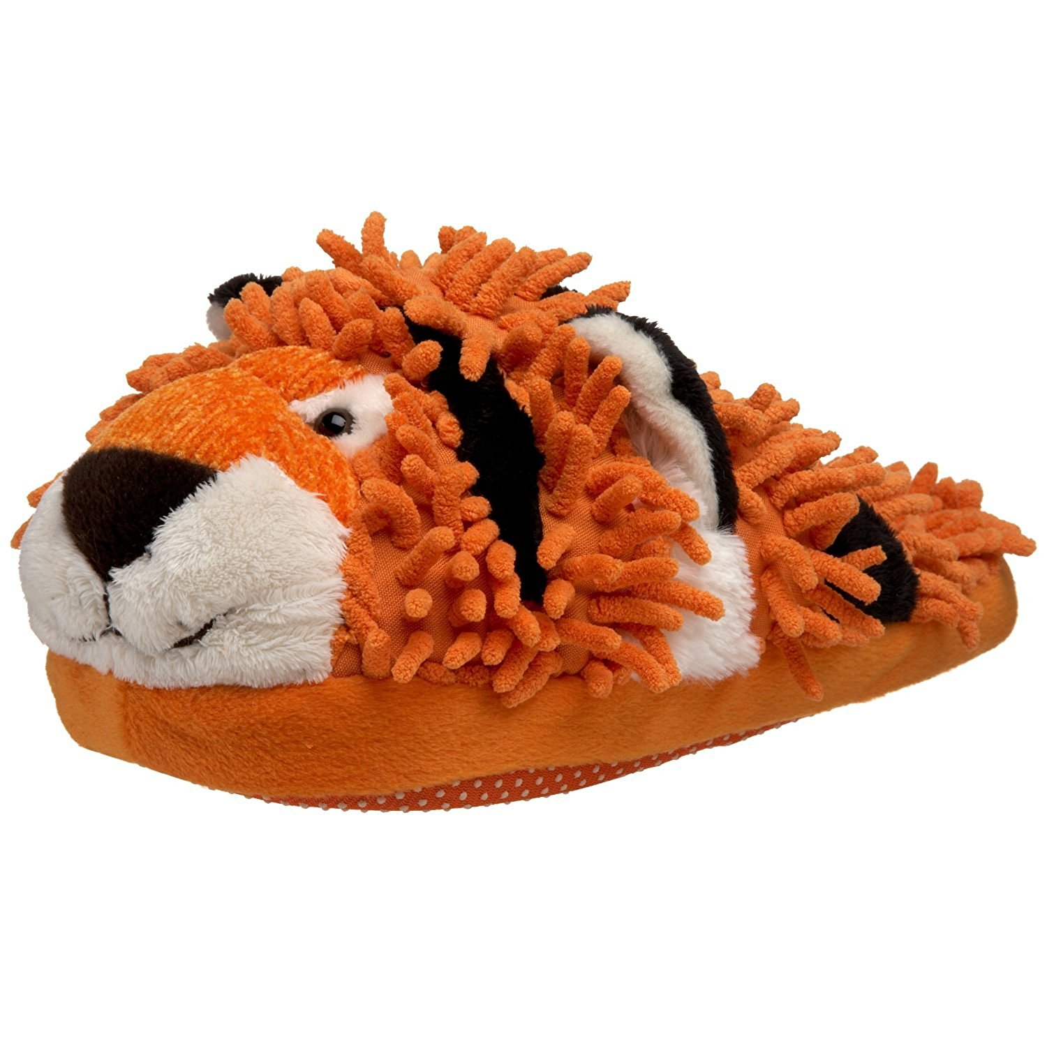 3f8dcbd9f5d Get Quotations · Adult Size Aroma Home Fuzzy Friends Tiger Slippers