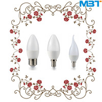 high lumen e12 candle led light 3w dimmable & e12 led candle light bulb c37 e14 bulb candle light well