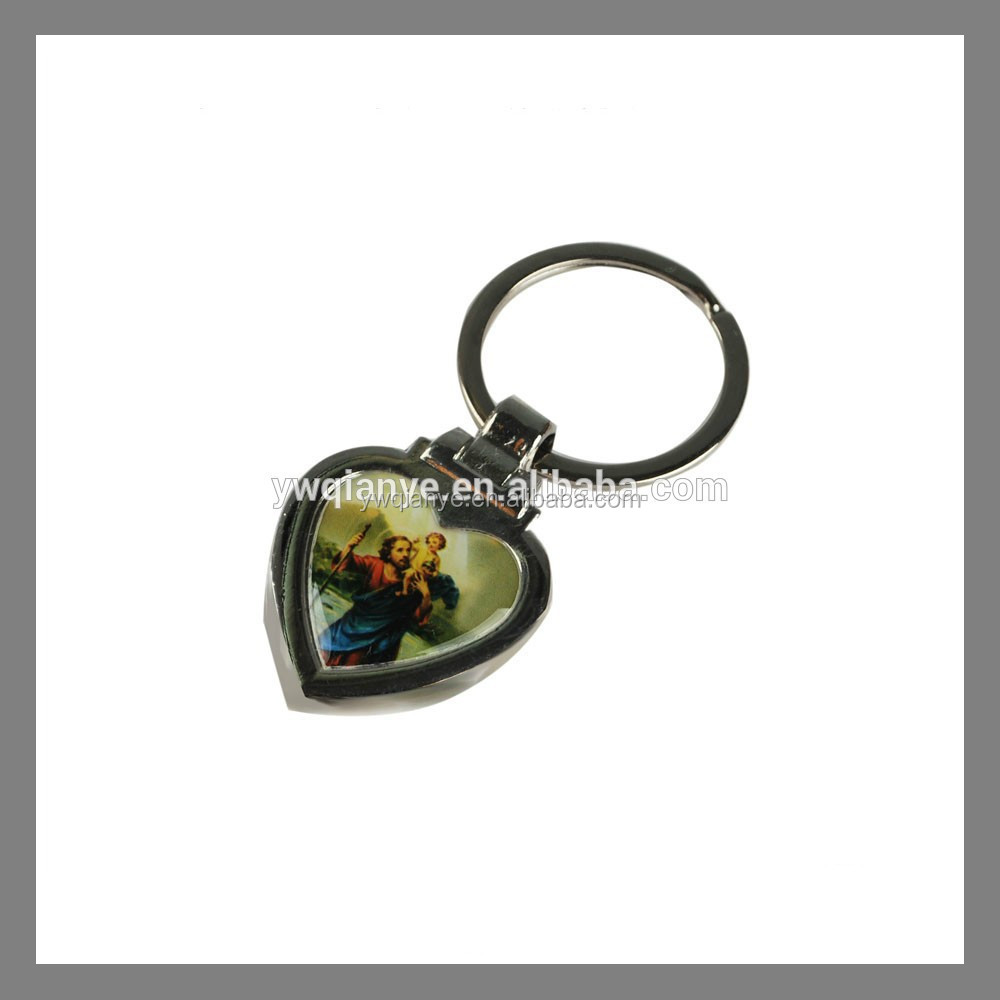 cheap blank acrylic, plastic coated smart key chain
