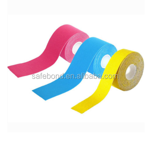 Professionele kwaliteit Stijve Strapping sport tex tape Spier Kinesiologie Tape