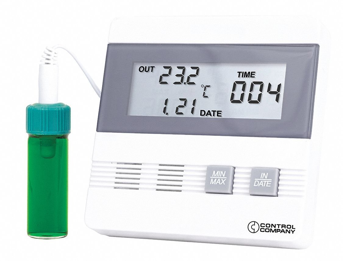 Digital Therm, Time/Date Max/Min Memory
