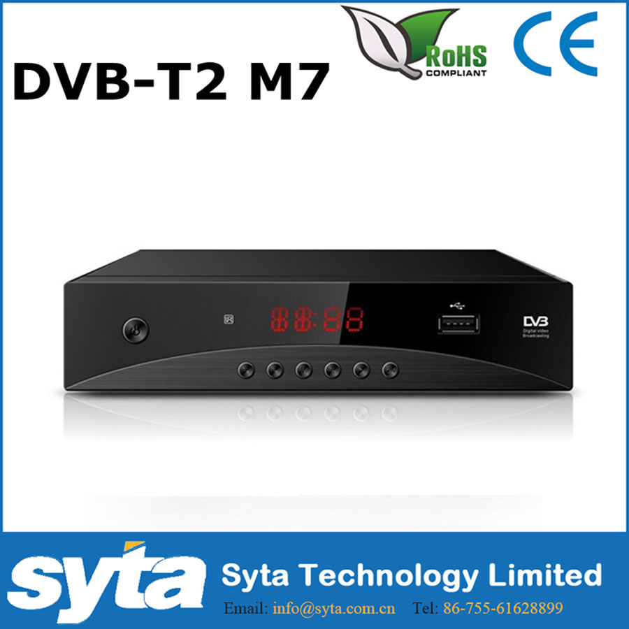 SYTA digital DVB-T2 fta <strong>set</strong> <strong>top</strong> <strong>box</strong> mutil-choice panel <strong>stb</strong> tv receiver for Russia Egypt Israel Iran