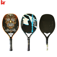 Carbon Fiberglass beach tennis racket