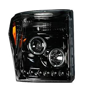 Recon Accessories 264272BK Headlight Assembly by Recon
