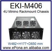 4U Mining Rackmount Chassis/case EKI-M406