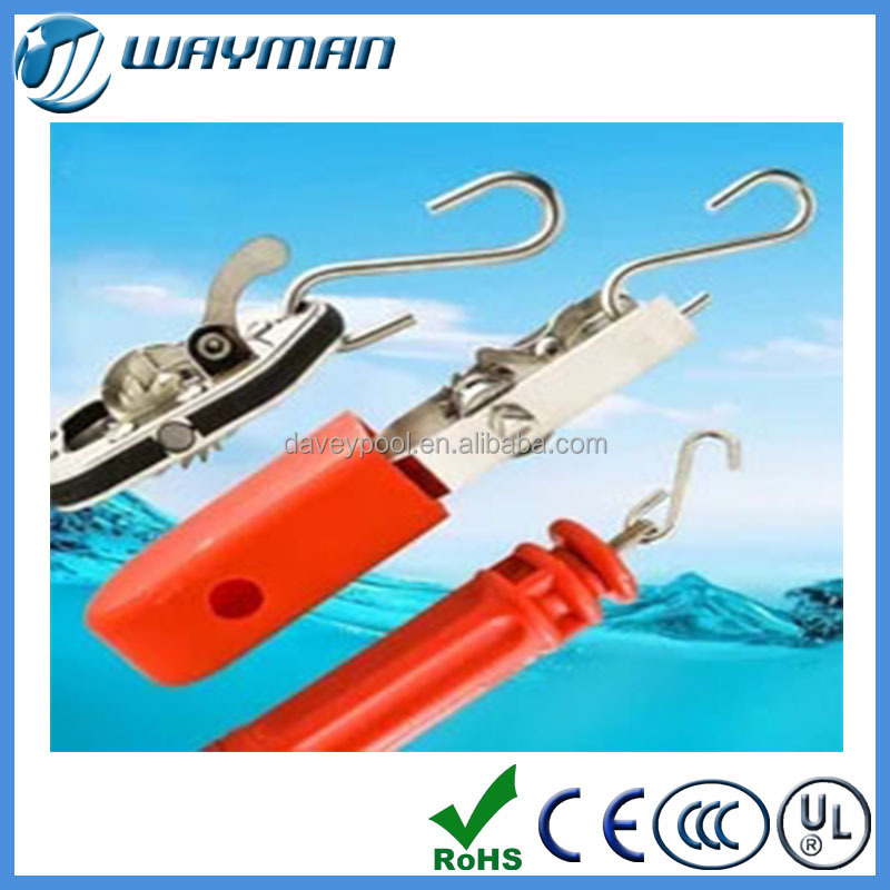 plastic and SS pool fixing float line heavy-tpye tensioner,plastic tensioner,flaot line hook