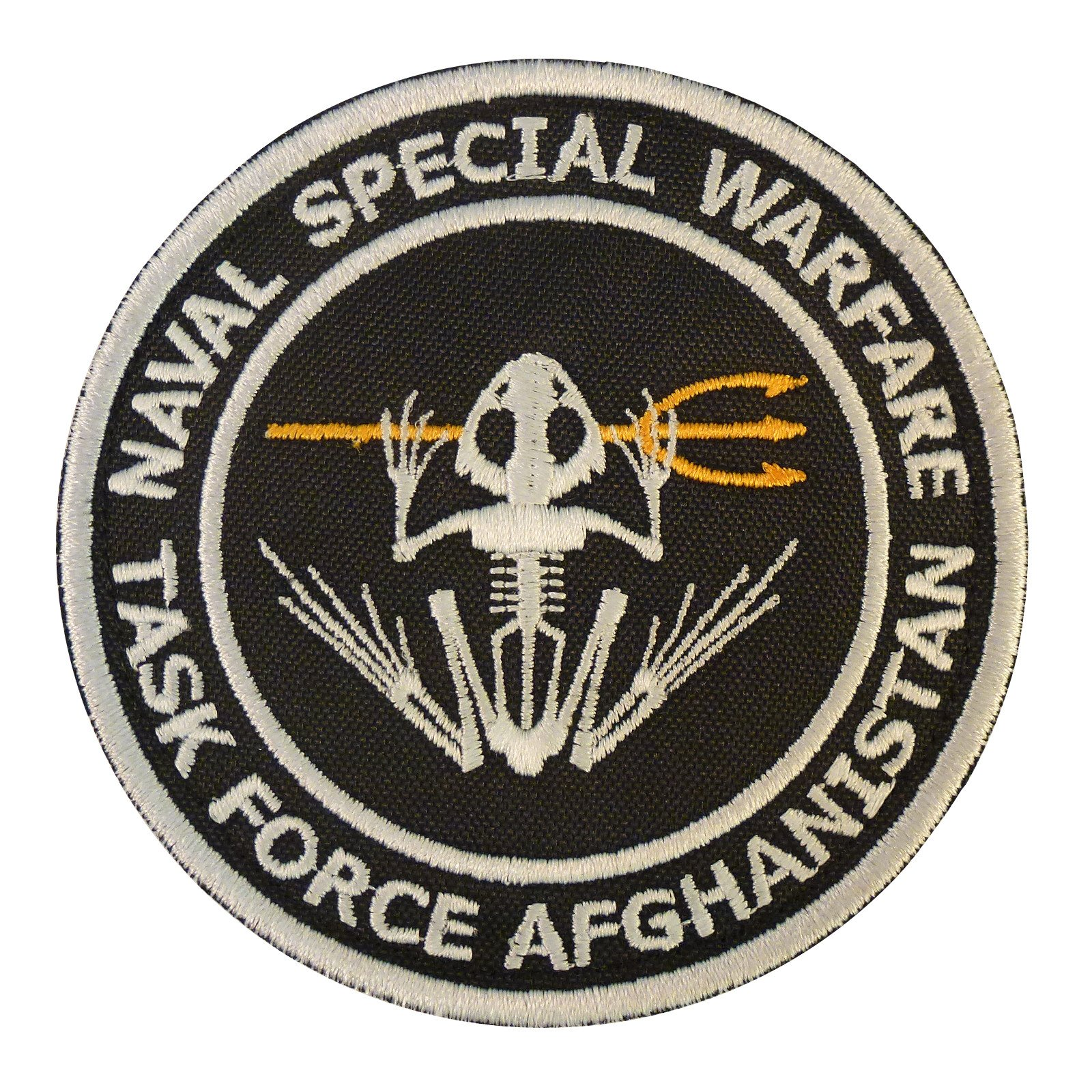US Navy Seals NSW Task Force Afghanistan DEVGRU Frog Embroidered Touch Fastener Patch