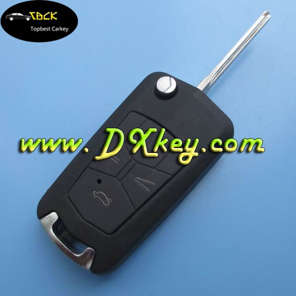 topbest car key replacement for Modified Toyota Camry remote key shell toyota smart key cover