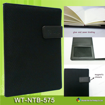 Wt-ntb-575 Custom Magnetic Flap Notebook