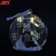 Wholesale lighted hanging glass ball christmas decorations factory