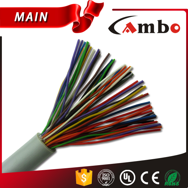 Cambo Factory Indoor/Outdoor Multi Pair 25 50Pair 0.5mm Bare Copper Telephone Cable