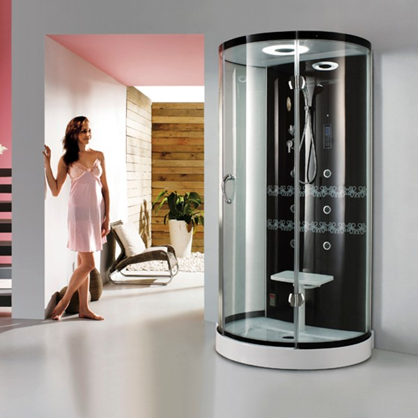 china wholesale beautiful design indoor bath room steam shower