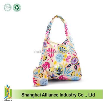 reusable shopping bags foldable compact environmentally friendly