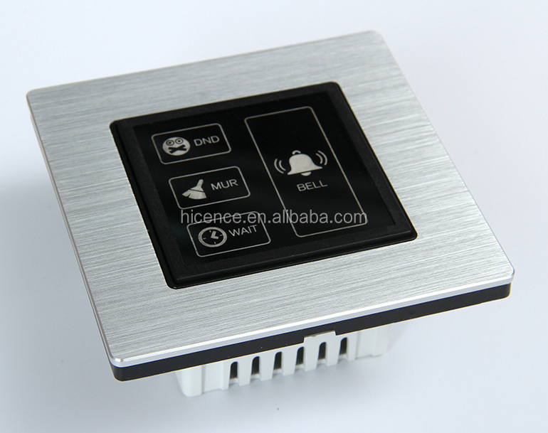 2.4GHz Zigbee Wireless Do Not Disturb Make Up Bell DND Doorbell for Hotel