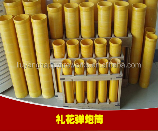 Display shell Professional Fibreglass Shell Mortar tubes high quality factory supply