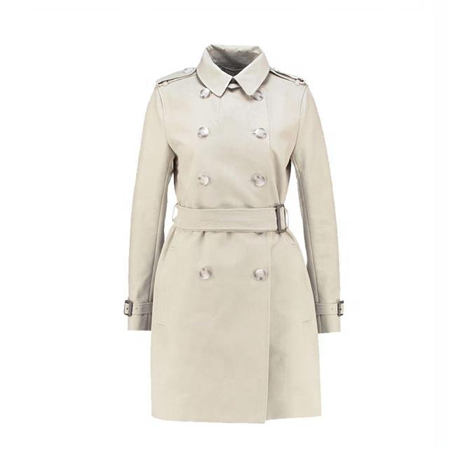 Top Sale Winter Elegant Long Women Wool Trench Coat