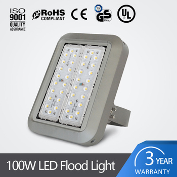 High power AC220V wide voltage SMD3535 LED chips Modular design 100w LED flood lights