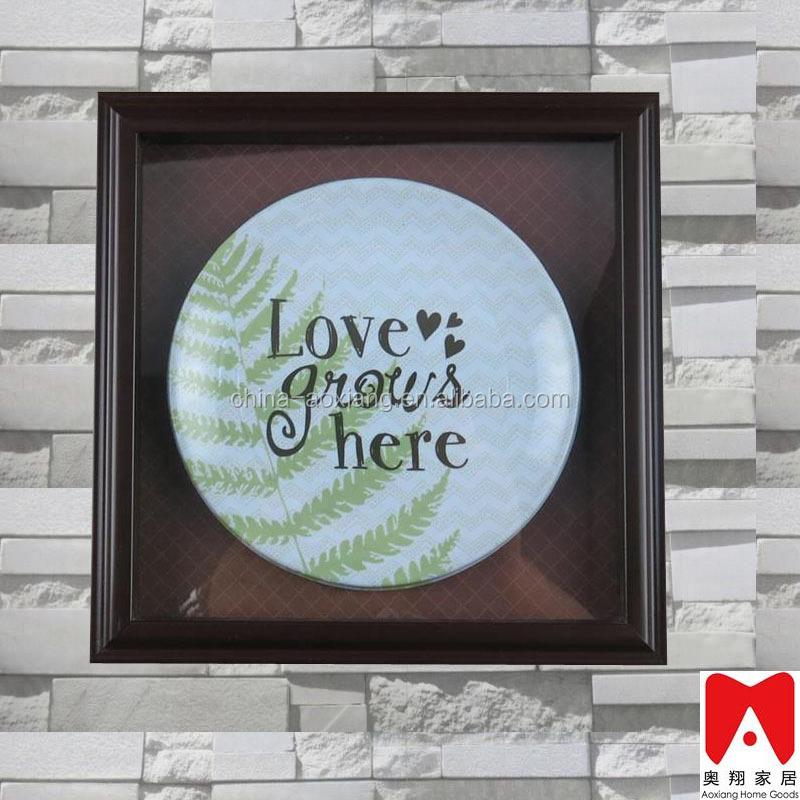 Venta al por mayor platos de madera y ceramica decorativos-Compre ...