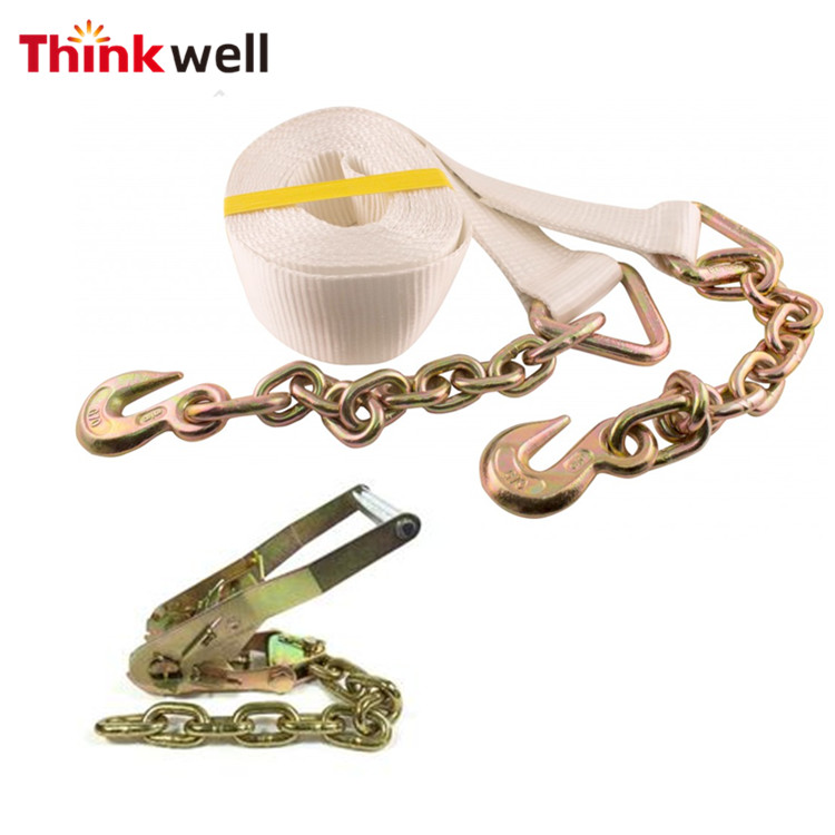 ees.Welded Steel Tow Chain Tie Down Binder Chain Flatbed Truck Trailer G70 3//8 X20