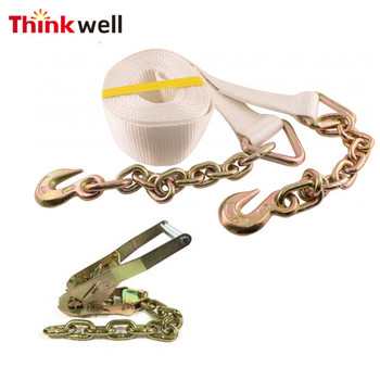 Truck Trailer Tow Binder Combo Transport Tie Down Chain