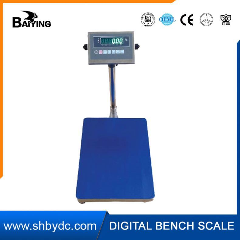 Good public praise load cell 500kg tcs electronic price platform scale counting scale stainless steel roller bench scale