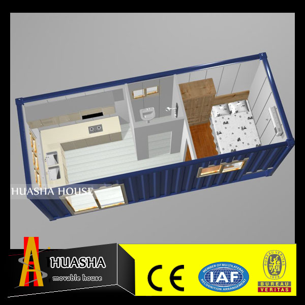 Sea Shipping Containers Steel Wall Prefab Office