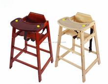 Factory Directly High quality feeding baby high wood chair With Best Service