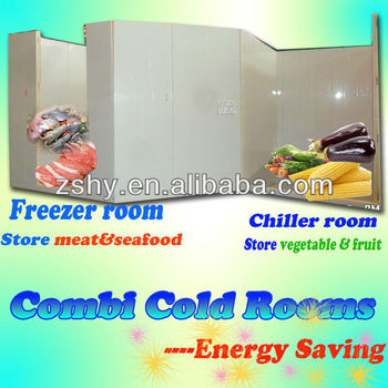 Cold Room Equipment for Seefood cold storage