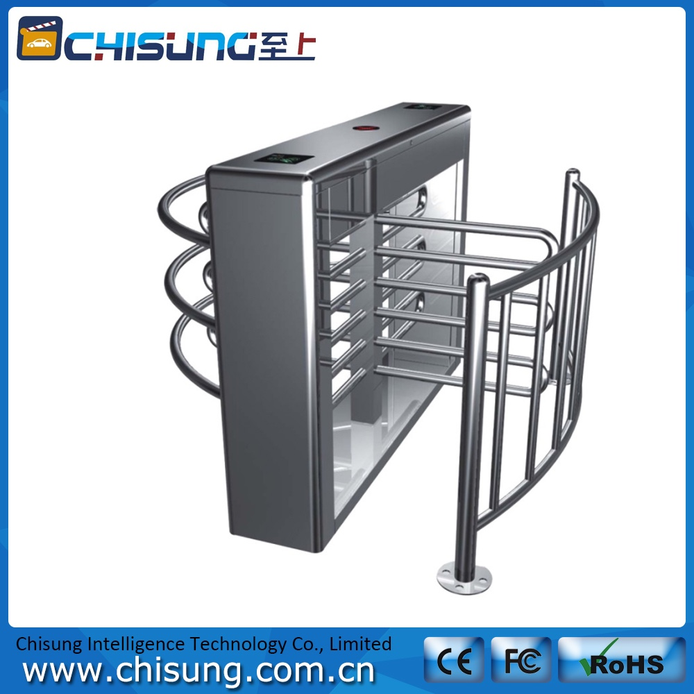 high quality full automatic security waist high turnstile gate systems