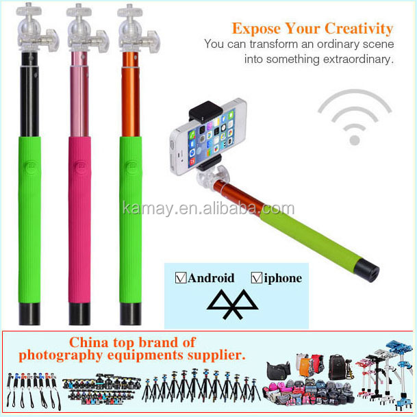 upgraded Heavy duty selfie stick selfie stick tongsis + clamp holder