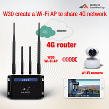 2017 hot 4G 3g gsm video camera security alarm system
