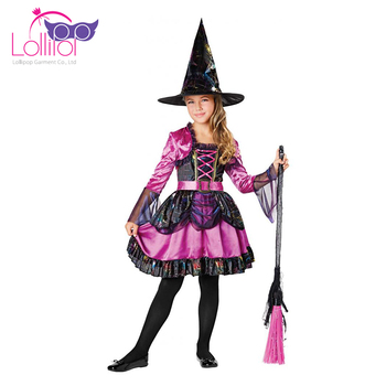 Customized Dressing Up Ideas For Halloween Witch Girls Unique ...