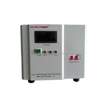 Single Phase 220v Ac 5kva Automatic Voltage Stabilizer For Household