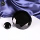 Black crystal glass cut diamond paperweight MH-9513
