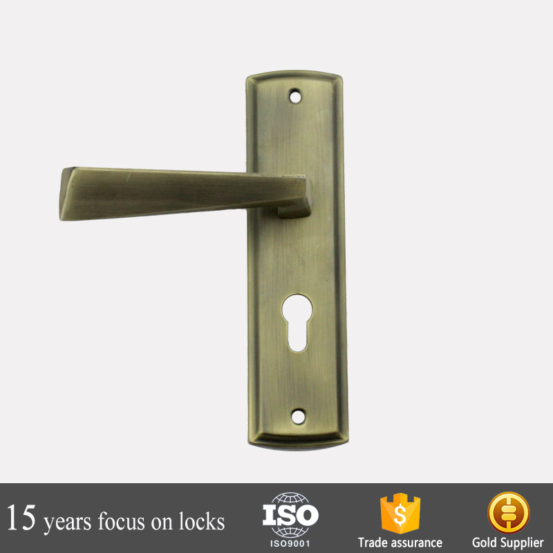Aluminium alloy antique 58193 Door Handle Lock Set