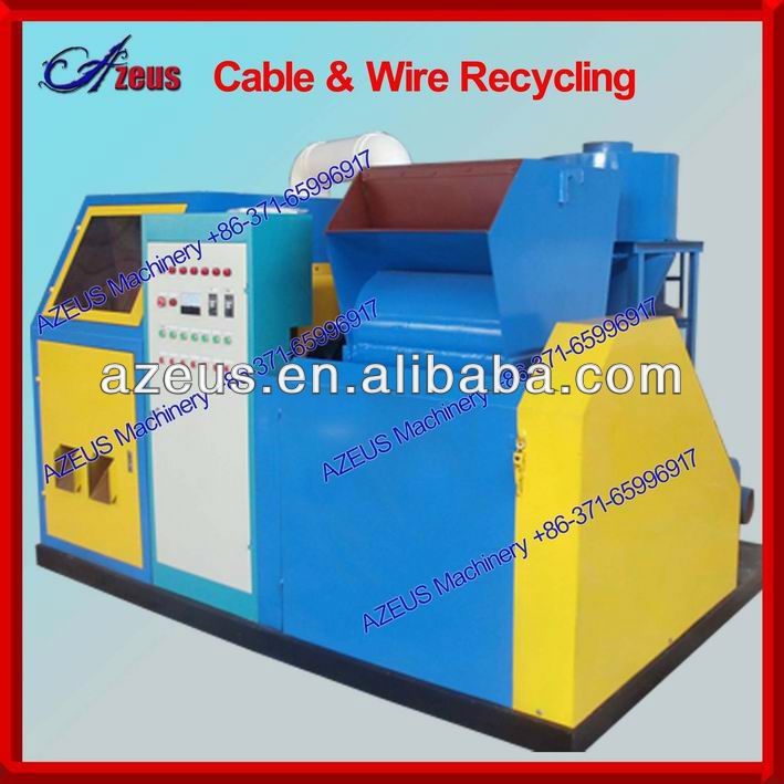 copper cable recycling machine for scrap copper cable