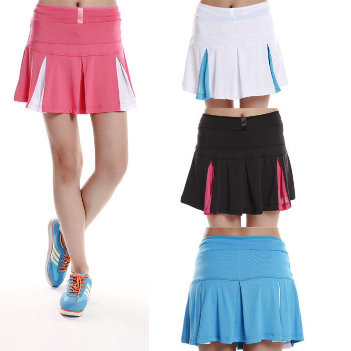 000953cb4b943 Get Quotations · 2015 American Apparel Street Fashion Woman Lady High Waist  Ball Tennis Pleated Skirt Plus Size M