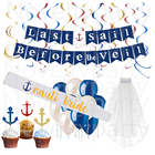 Bridal Shower Wedding Bachelorette Sailor Party Supplies Nautical Theme Bridal Shower Nautical Bachelorette Party Decorations