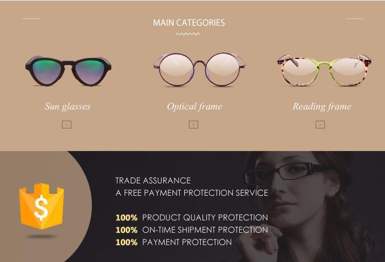 도매 경제 패션 맞춤 디자인 아세테이트 선글라스