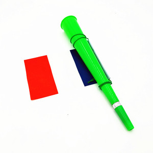Wholesale cheering plastic horn with national flag