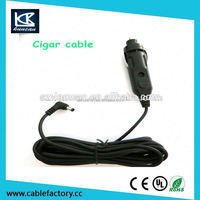 cigarette electronic charger 12v dc 2.1mm car cigarette lighter power supply cable for rear view monitor